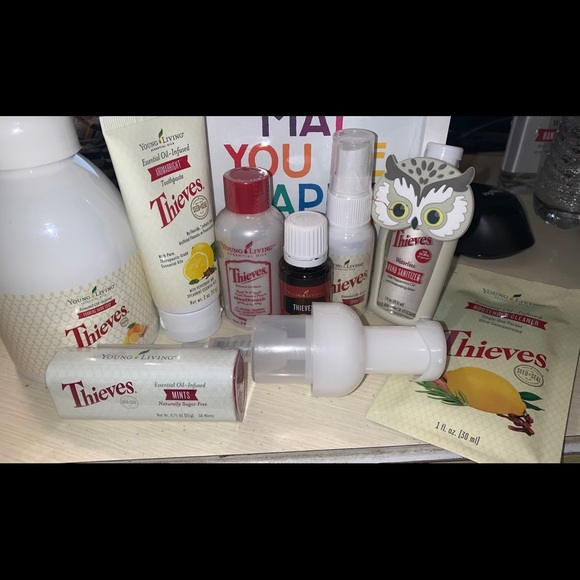 THIEVES bundle young living essential oils! New